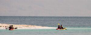קיאקים בים המלח