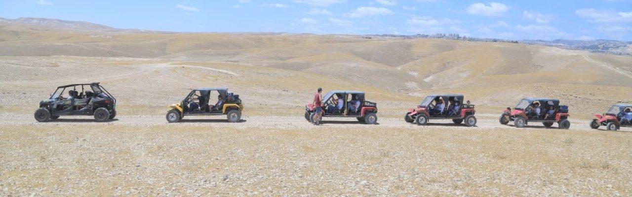 ג'יפים טרקטורונים בים המלח - כנען תיירות